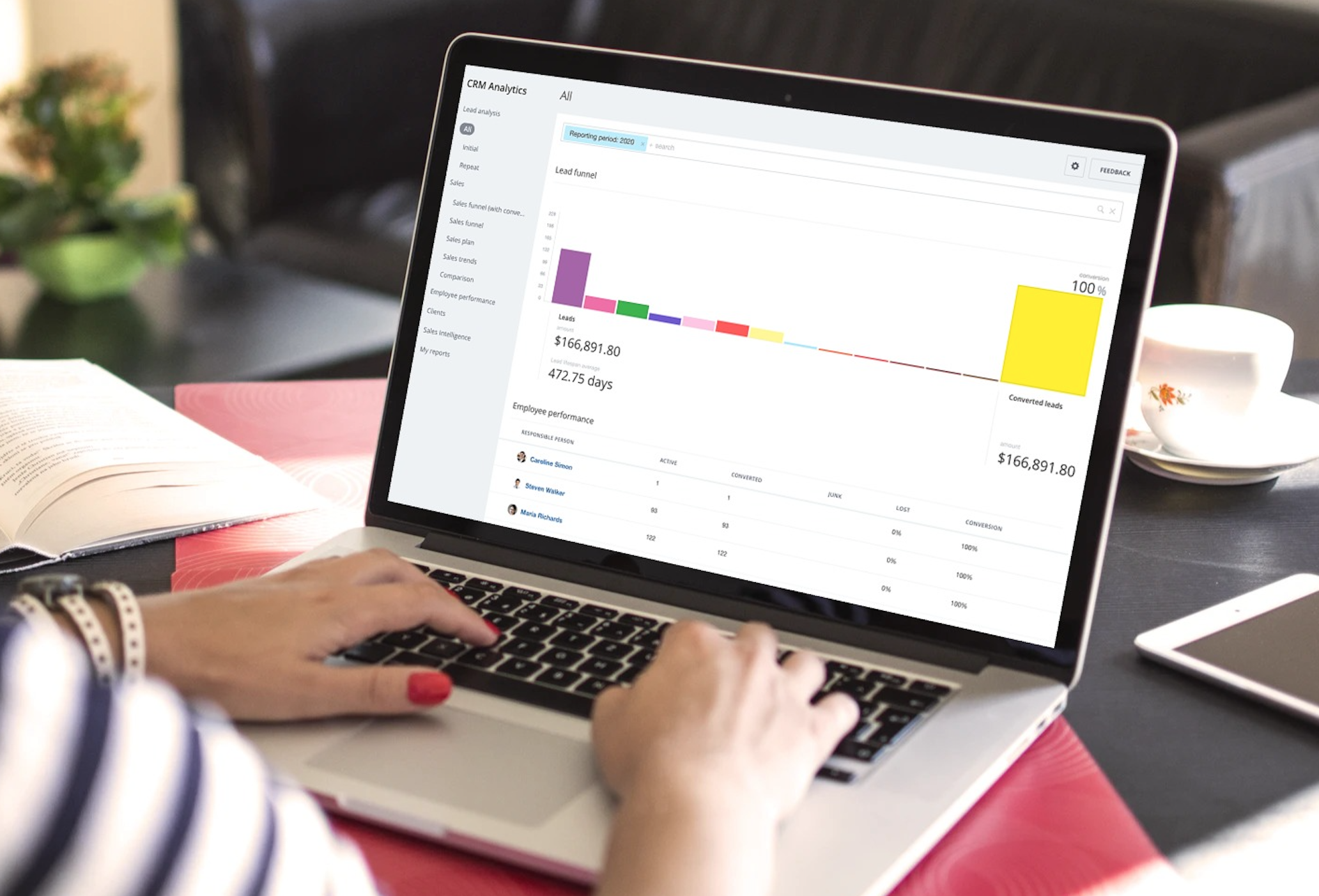 Reporting period in CRM Analytics
