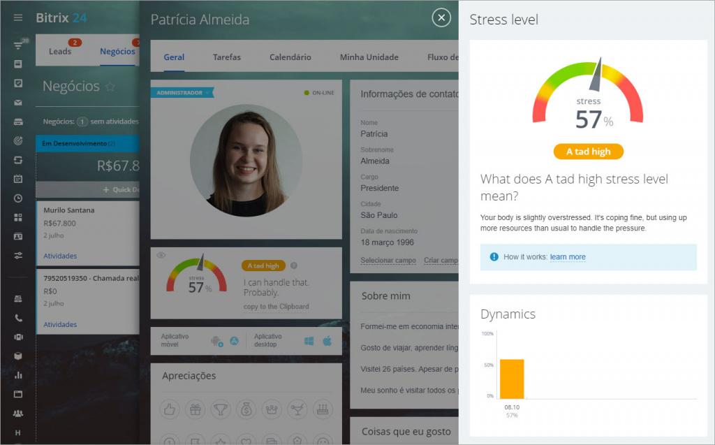 Medir seu nível de estresse