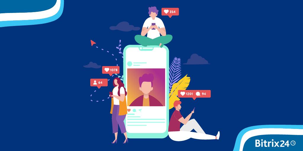 Anúncios do Facebook e Instagram no CRM Marketing