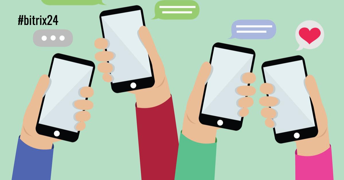 Atualização de aplicativo para dispositivos móveis do Bitrix24