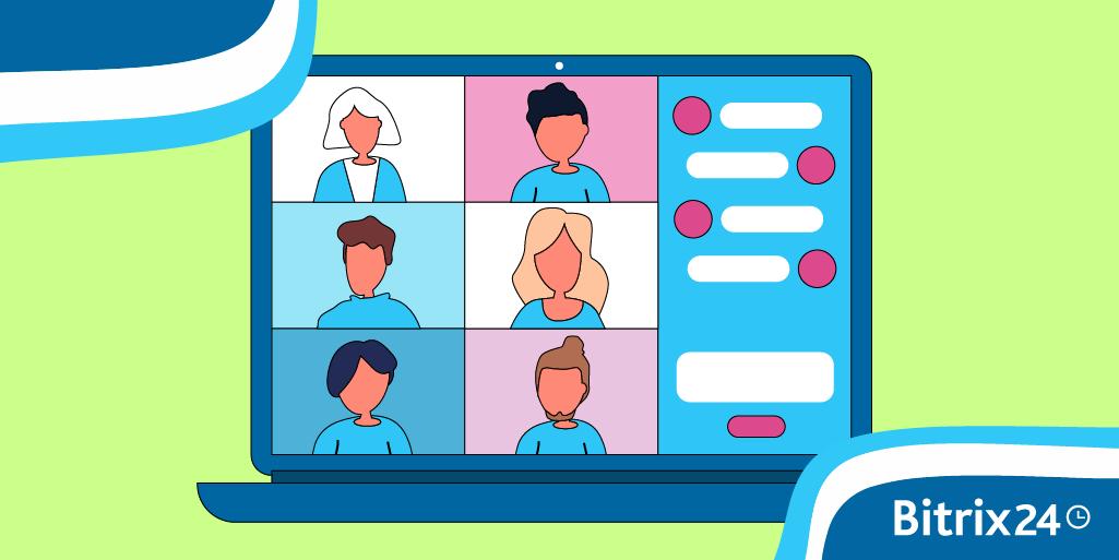 Jak zorganizować spotkanie w Bitrix24?
