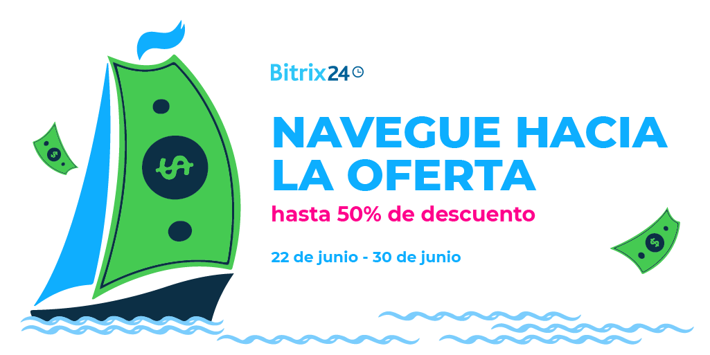 Navegue hacia la oferta con Bitrix24