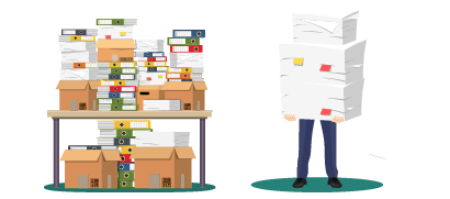 Azioni: Elaborazione documenti