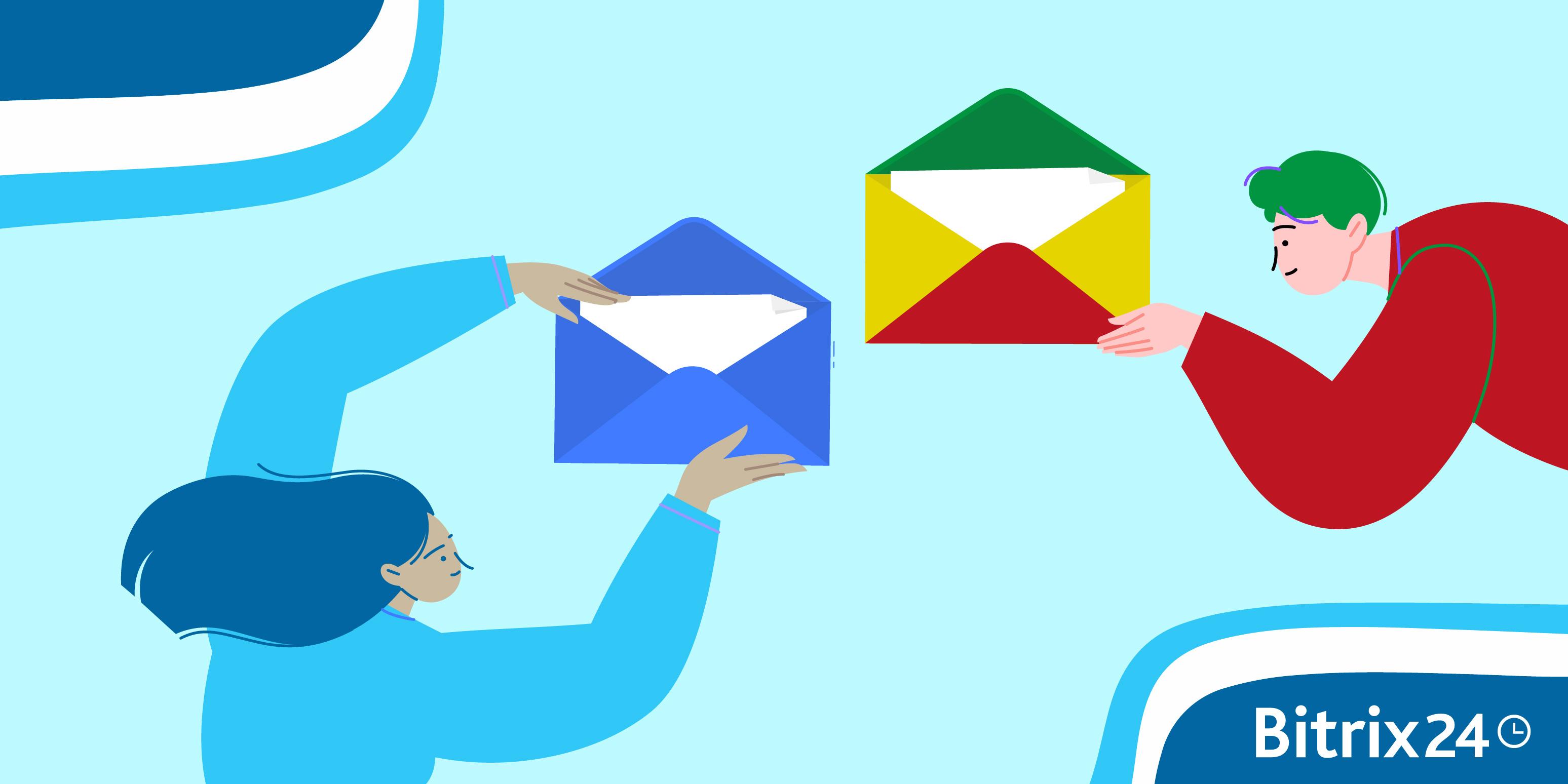 將Gmail電子郵箱連接到您的Bitrix24帳戶上