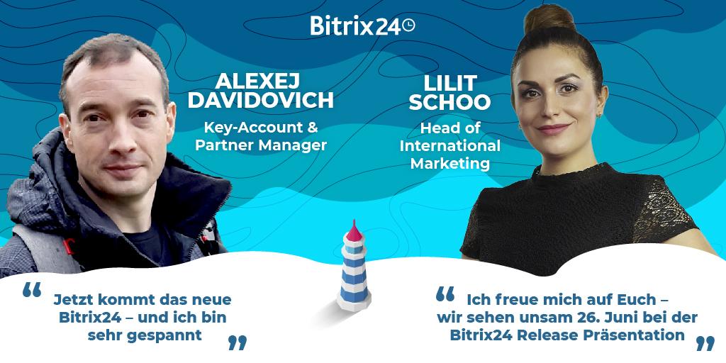 Bitrix24 Release 2020: Hier ist unser Team!
