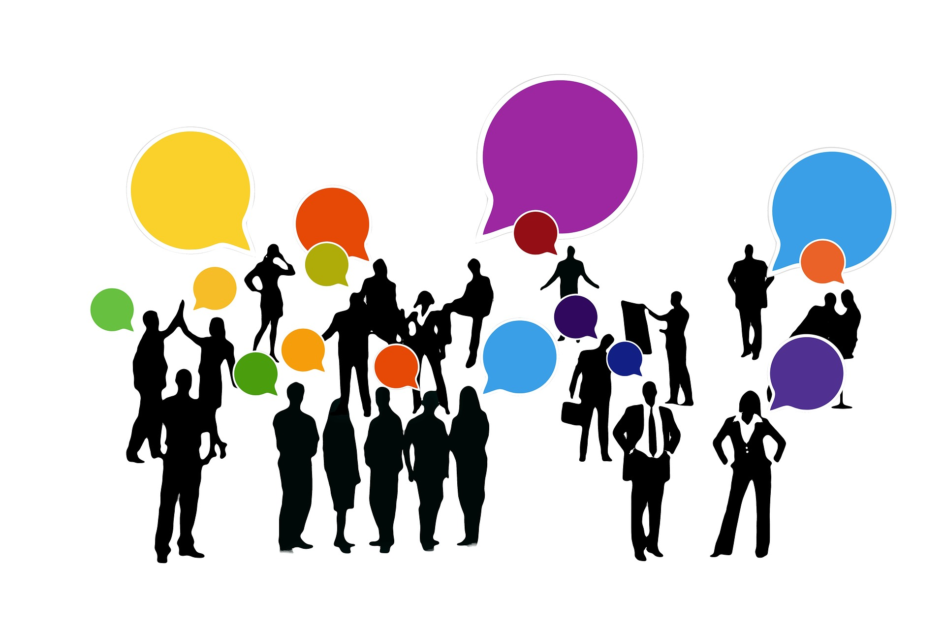La mensajería instantánea y el chat en grupo en un entorno profesional