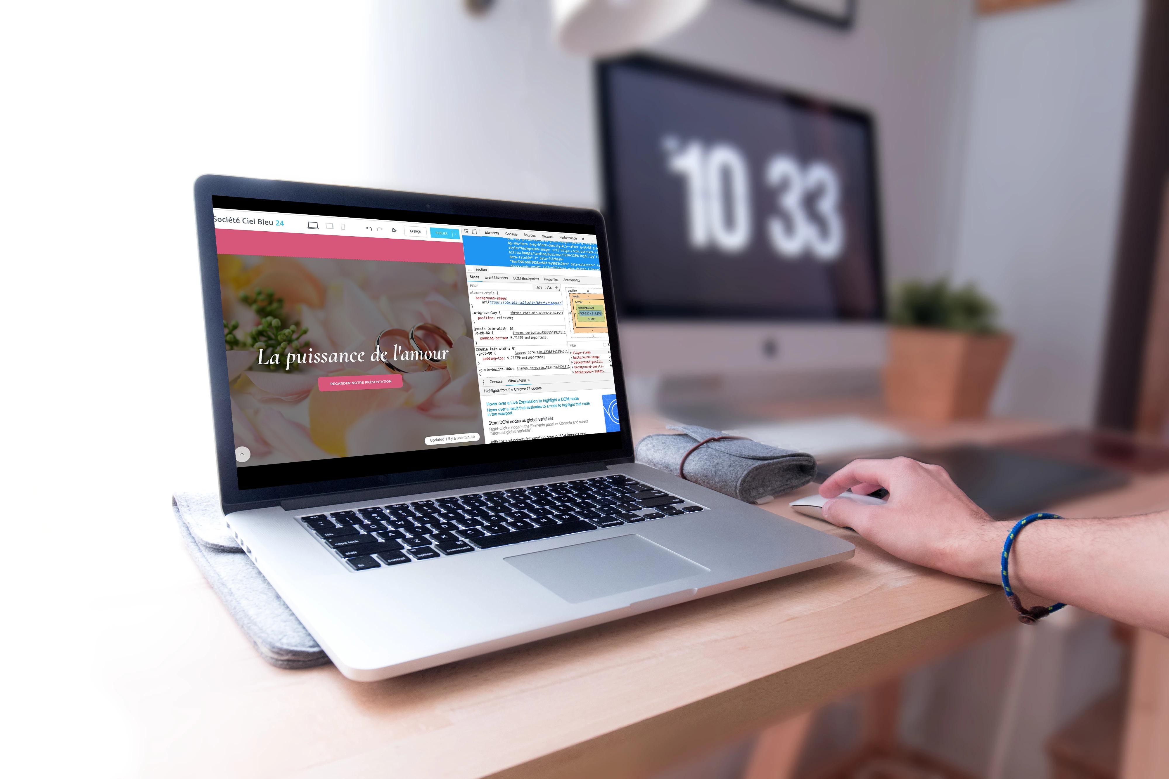 Comment ajouter son CSS personnalisé à votre site web ou à votre boutique en ligne Bitrix24