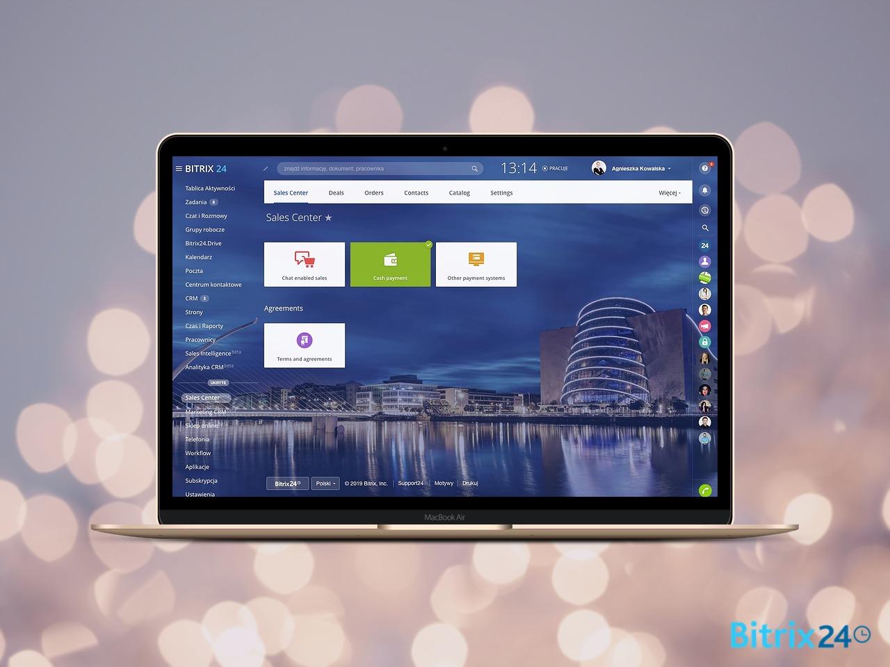 Nowy moduł Sales Center w Bitrix24