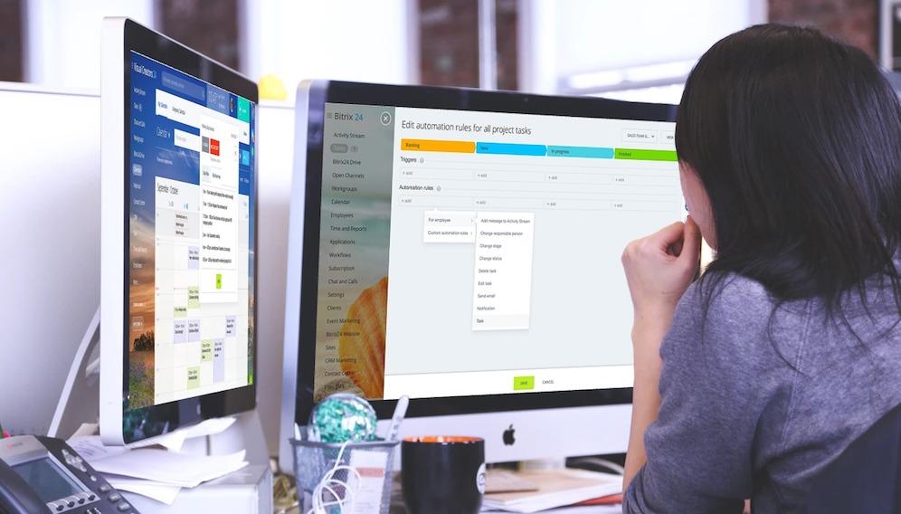 Novas regras de automação de tarefas no Bitrix24