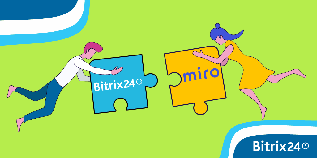 Bitrix24與Miro Boards 應用程式集成