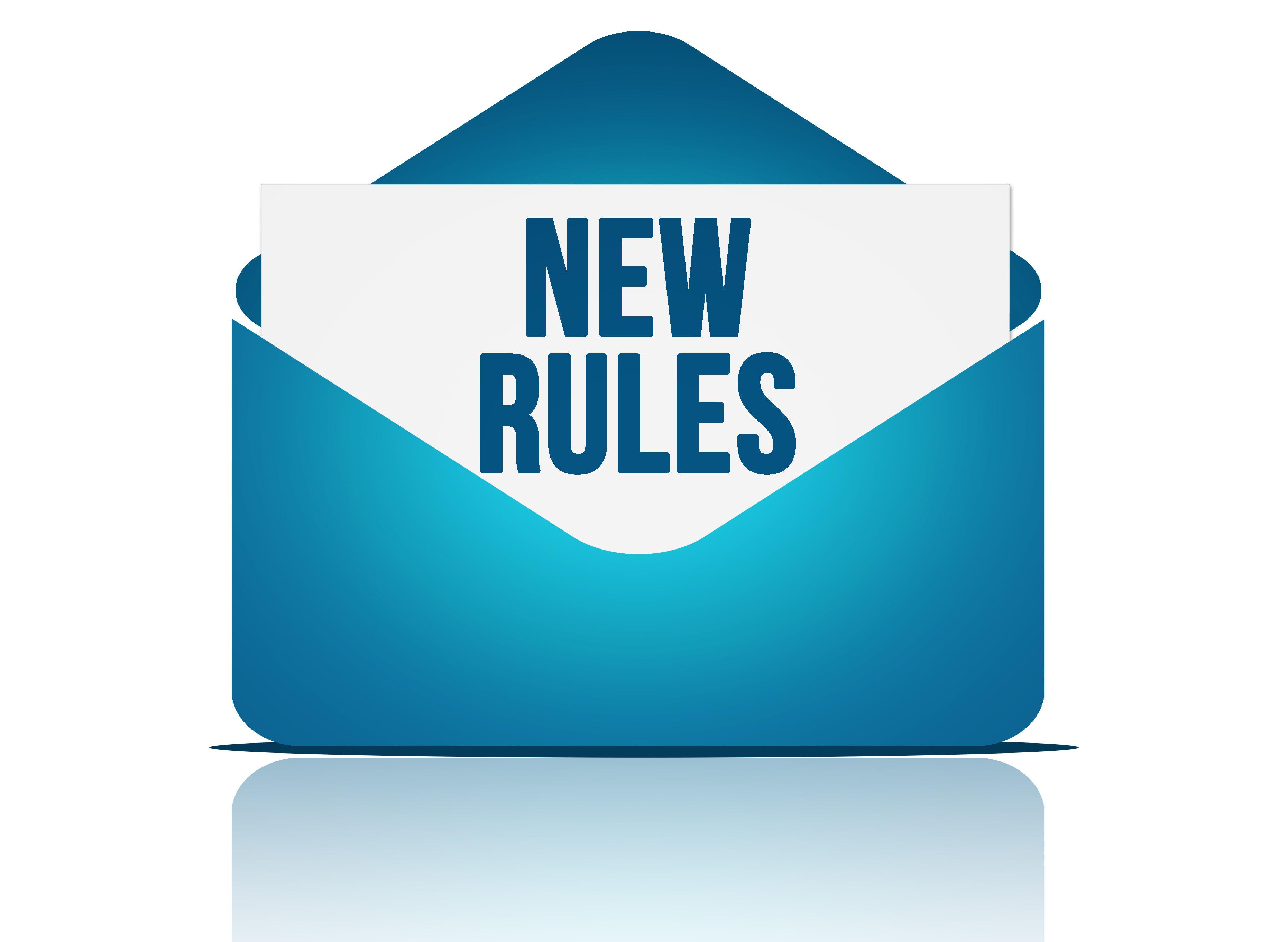 Nuevas reglas de Facebook para enviar mensajes.