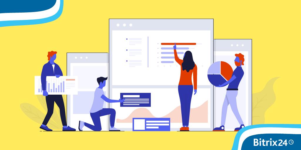 Bitrix24網站和商店:更改設計