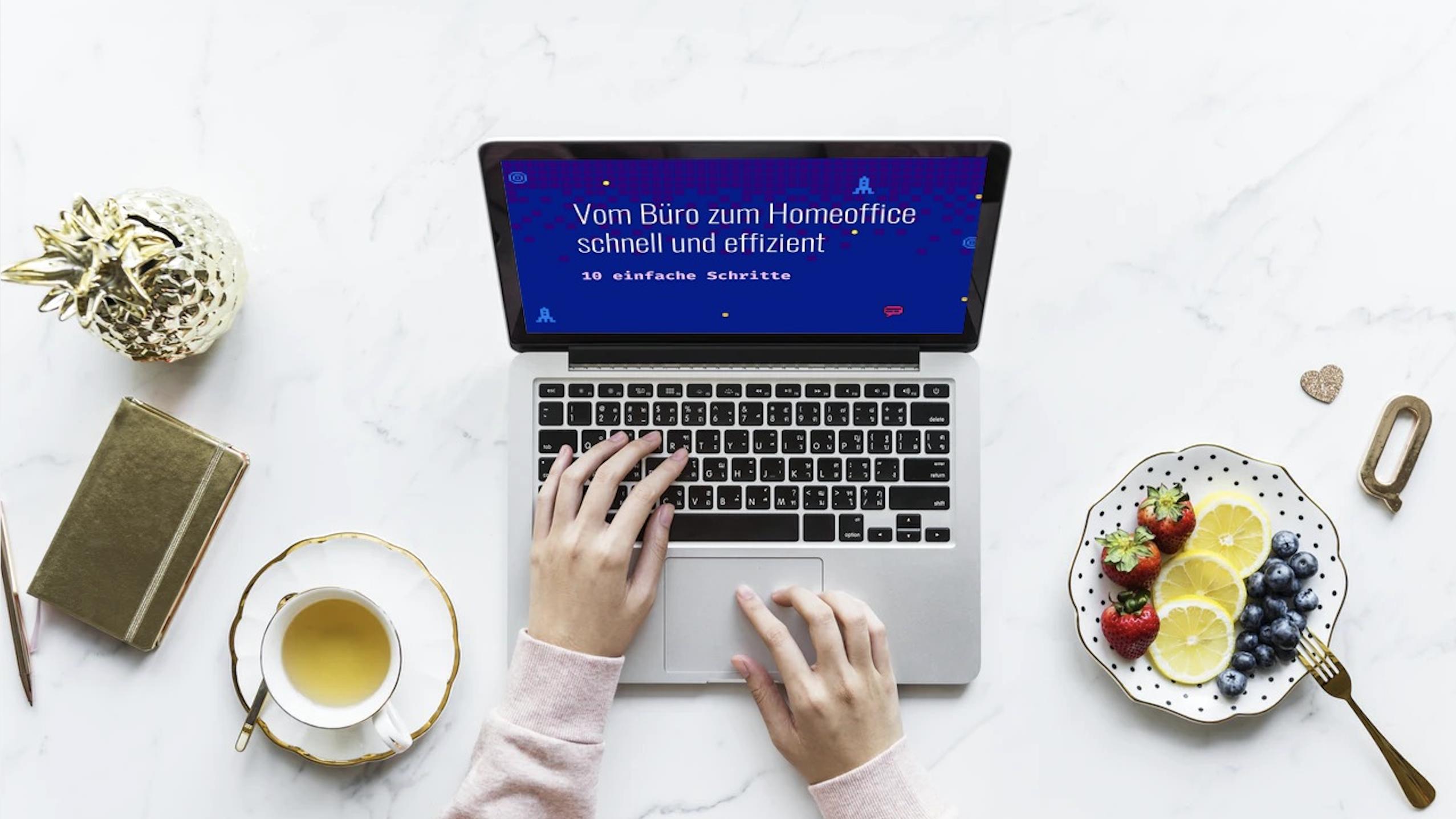 Webinar: Vom Büro zum Homeoffice schnell und effizient
