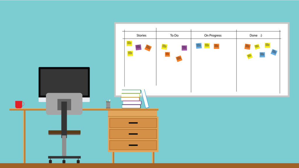 Advantages and disadvantages of using a Scrum task board