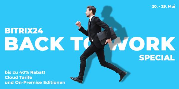 Back To Work Sale: Sparen Sie bis zu 40%!