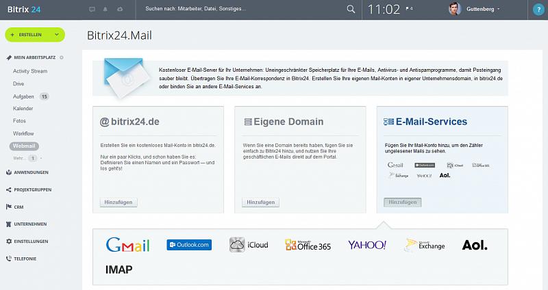 E-Mails direkt in Ihrem Intranet!